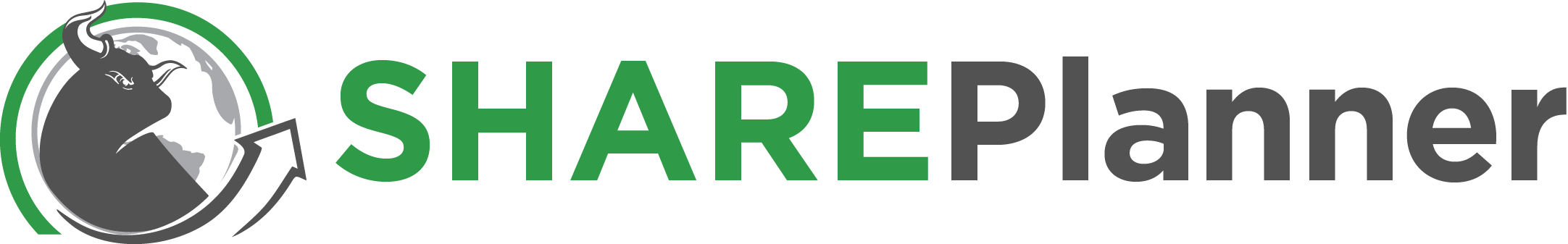 SharePlanner logo horizontal