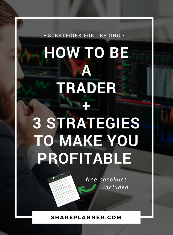 how to be a trader