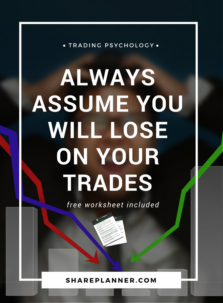 always assume you will lose on your trades